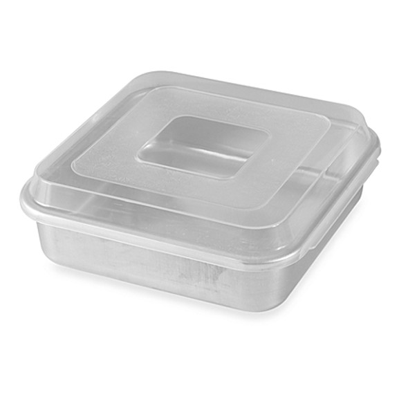 Nordic Ware® 9-Inch Square Aluminum Cake Pan with Lid