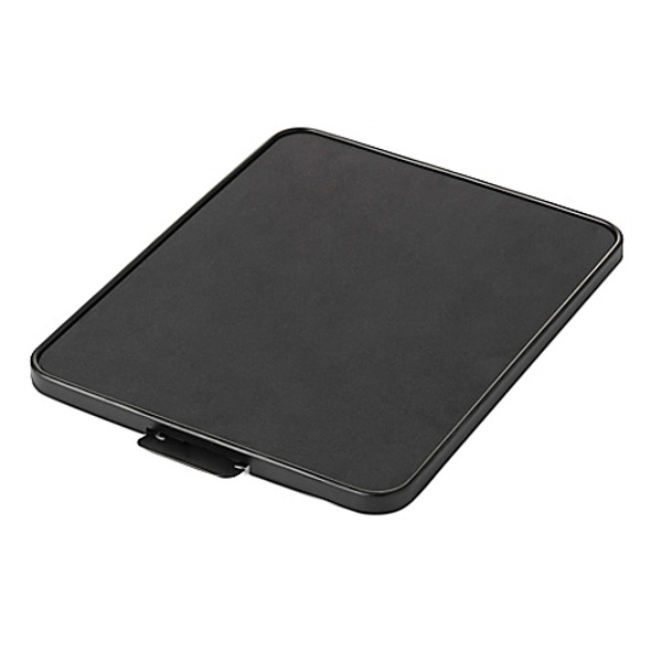 Nifty Home Products Countertop Appliance Rolling Tray in Black