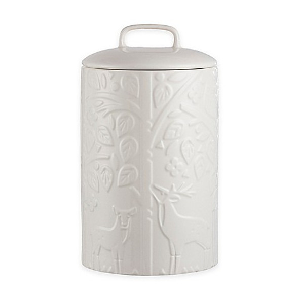 Mason Cash® In the Forest Tea Jar in White