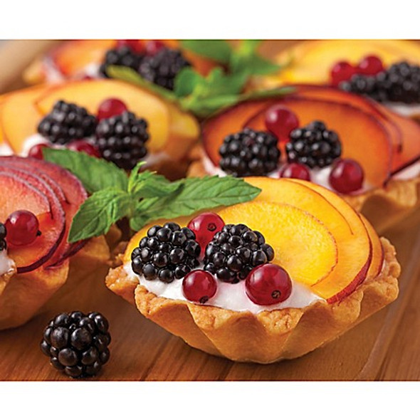 Mrs. Anderson's Baking® Fluted 2.75-Inch Dome Tartlet Molds (Set of 4)