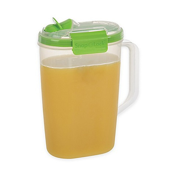 Progressive® SnapLock™ 2-Quart Juice Jug in Green