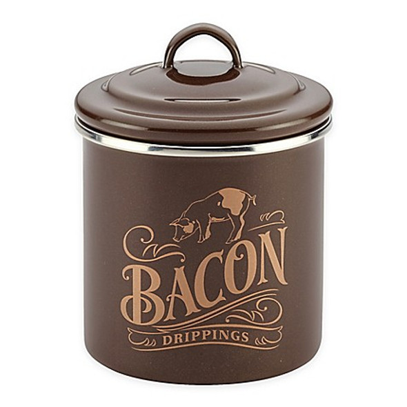 Ayesha Curry™ Bacon Grease Can in Brown Sugar