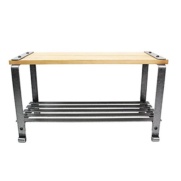 Enclume® All-Purpose Bench in Hammered Steel