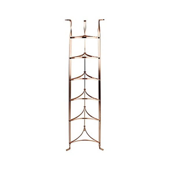 Enclume® 6-Tier Fully Assembled Cookware Stand in Brushed Copper