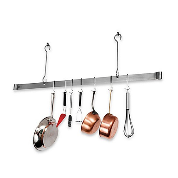 Enclume® 36-Inch Offset Hook Ceiling Bar Rack