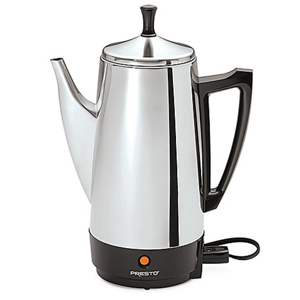 Presto® 12-Cup Stainless Steel Percolator