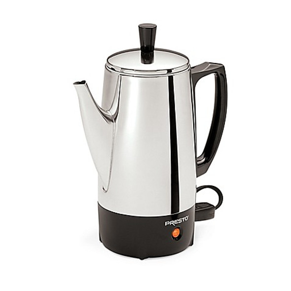 Presto® 6-Cup Stainless Steel Percolator