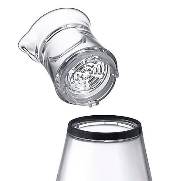 Prodyne 45-Ounce Fruit Infusion Flavor Pitcher in White