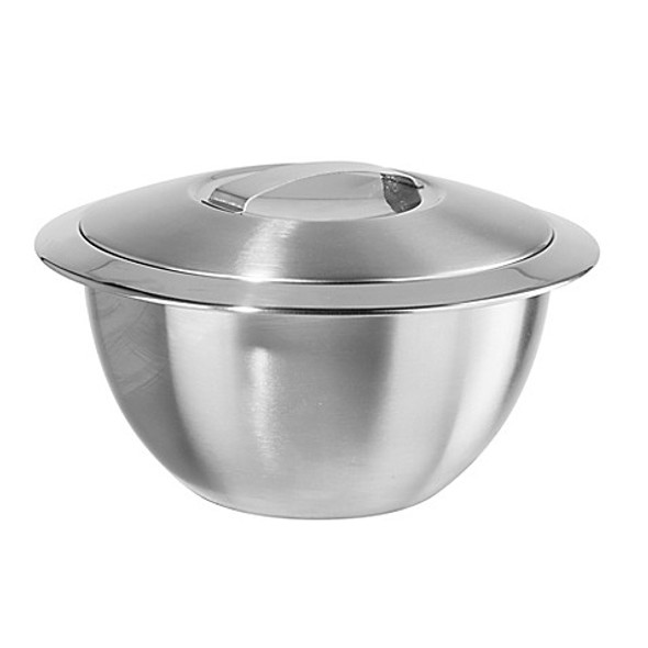 Oggi™ Thermal Stainless Steel 1 qt. Serving Bowl with Cover