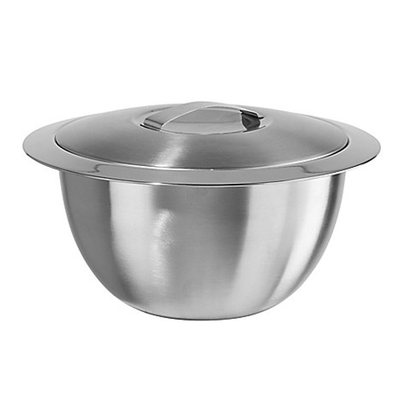 Oggi™ Thermal Stainless Steel 2 qt. Serving Bowl with Cover