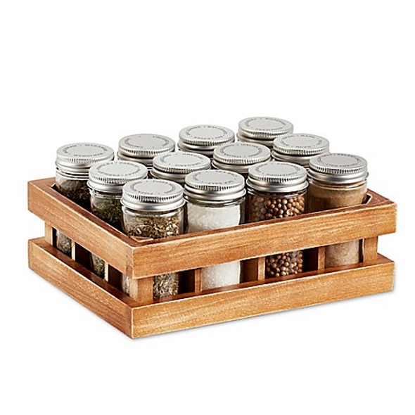 Kamenstein® Wooden 12-Jar Spice Rack