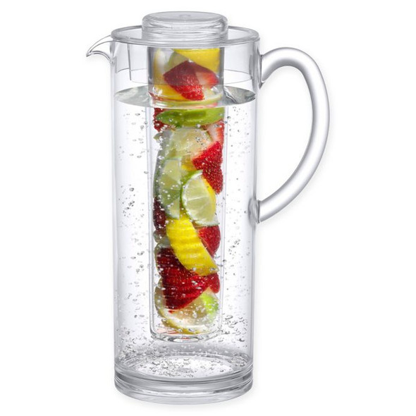 Prodyne 60 oz. Clear Fruit Infusion Pitcher
