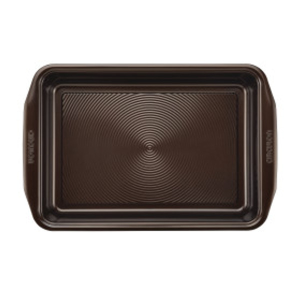 Circulon® Total Non-Stick 9-Inch x 13-Inch Cake Pan in Chocolate