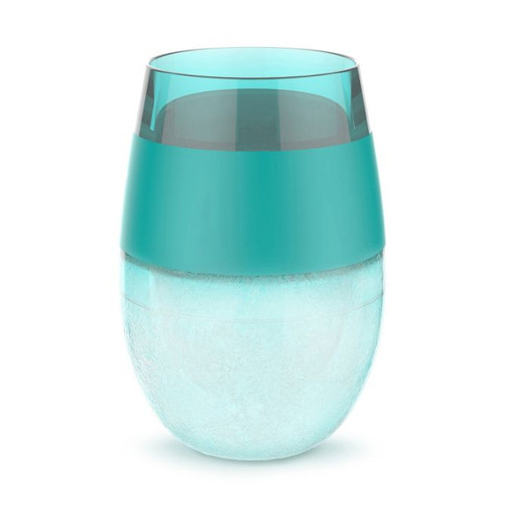 Host® Wine FREEZE™ Cooling Stemless Wine Glass in Green