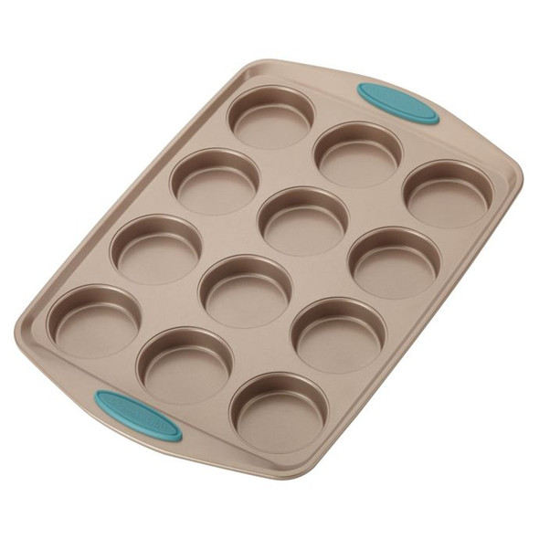 Rachael Ray™ Cucina Non-Stick 12-Cup Bite-Size Baker Pan in Latte