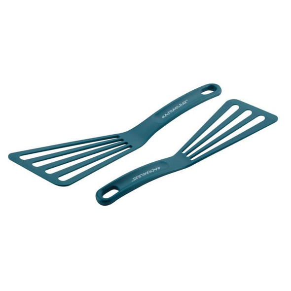 Rachael Ray™ 2-Piece Nylon Slotted Turner Set in Marine Blue