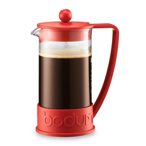 Bodum® Brazil 8-Cup French Coffee Press Triangle Handle in Red