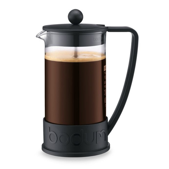 Bodum® Brazil 8-Cup French Coffee Press Triangle Handle in Black