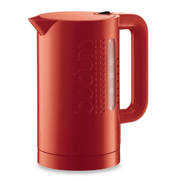 Bodum® Bistro 1-Liter Electric Water Kettle in Red