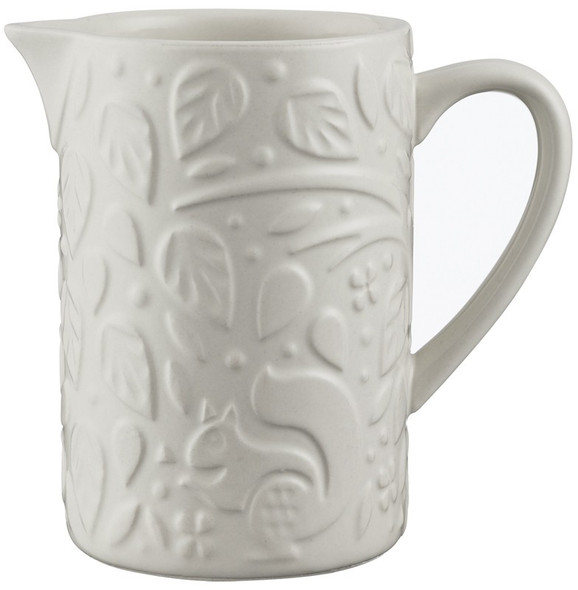 Mason Cash® In the Forest 5.4 oz. Creamer Jug in White