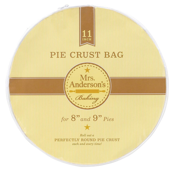 Mrs. Anderson's Baking Easy No-Mess 11-Inch Pie Crust Maker Bag
