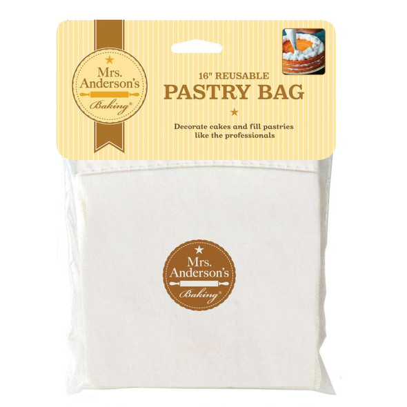 Mrs. Anderson's Baking® 16-Inch Reusable Pastry Bag in Natural