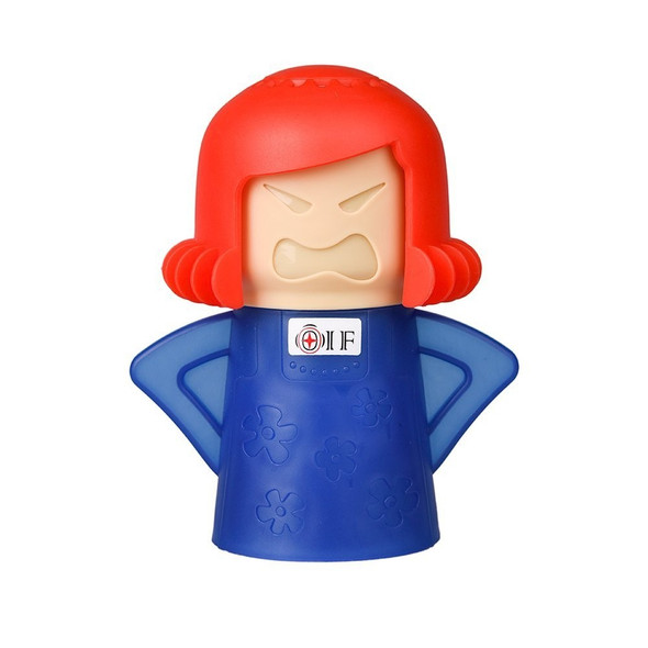 NewMetro Design Angry Mama Microwave Cleaner in Blue Base