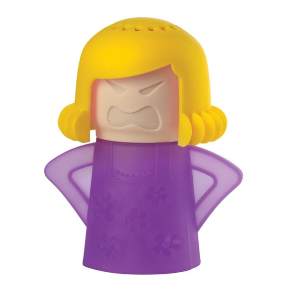 NewMetro Design Angry Mama Microwave Cleaner in Purple Base