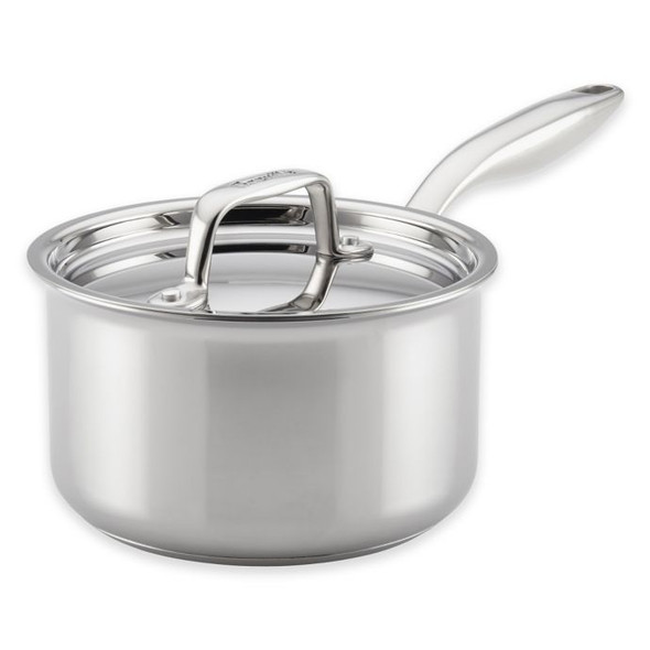 Breville® Thermal Pro™ Clad Stainless Steel 2 qt. Covered Saucepan