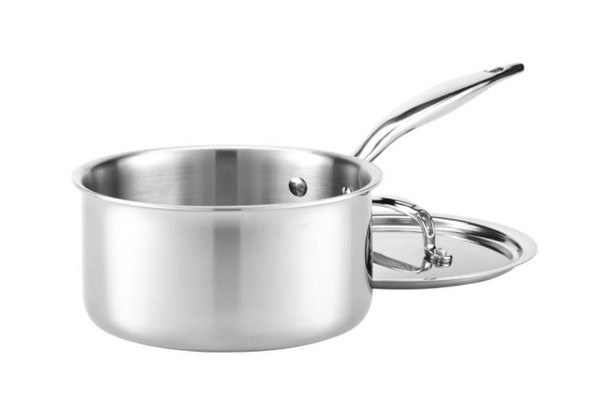 Hammer Stahl Heritage Steel 3-Qt Saucepan with Cover