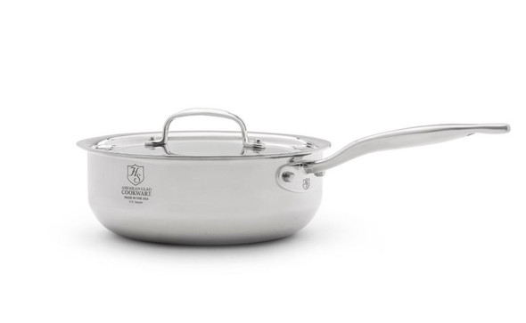 Hammer Stahl Heritage Steel 3-Qt Saucier with Cover