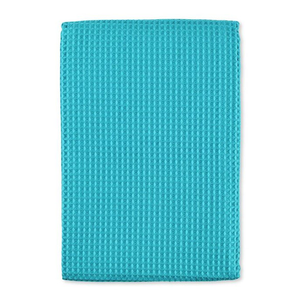 MU Kitchen™ Waffle Kitchen Towels in Sea Blue (Set of 4)