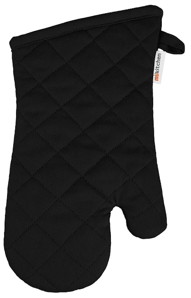 Mu Kitchen™ Cotton Oven Mitt in Onyx