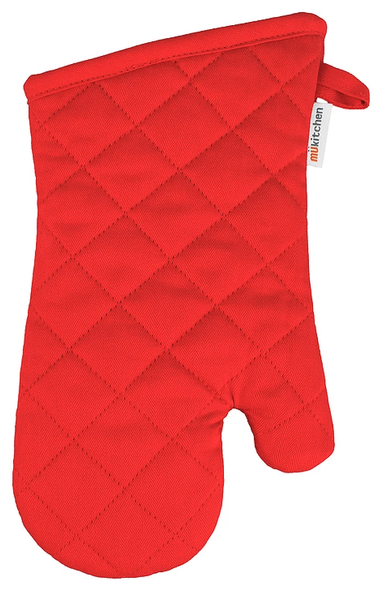Mu Kitchen™ Cotton Oven Mitt in Crimson