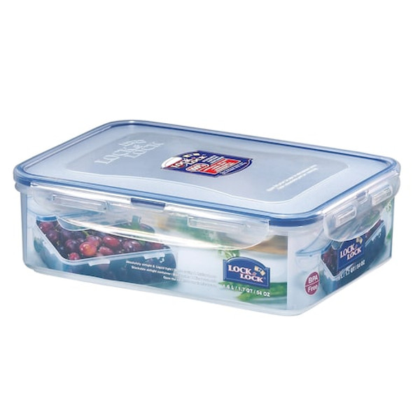 Lock & Lock Easy Essentials™ 54-Ounce Rectangular Food Storage Container