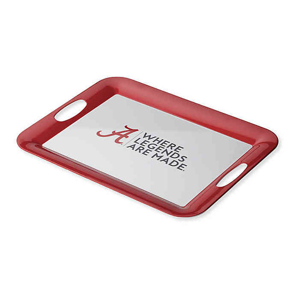 University of Alabama 16-Inch x 12.5-Inch Serve 'n Score™ Party Platter in White