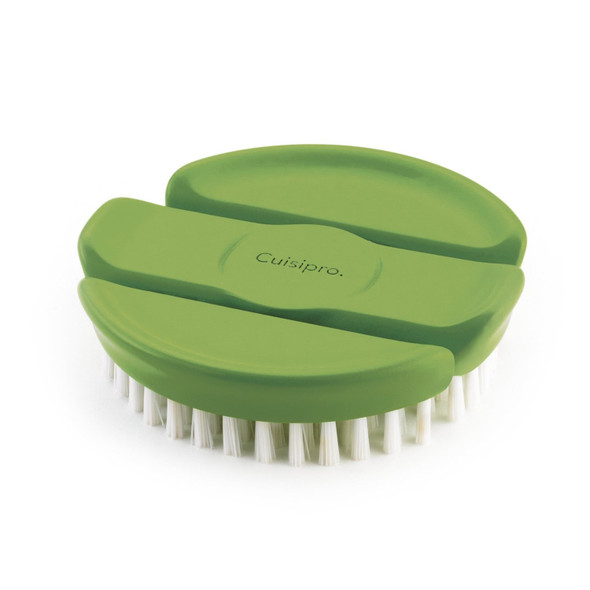 Cuisipro Flexible Vegetable Brush in Green