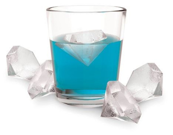 Iced Out™ Silicone Diamond Ice Cube Tray by TrueZoo®