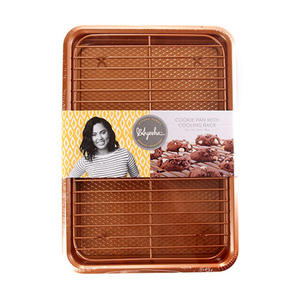 Ayesha Curry™ 2-Piece Cookie Pan Set in Copper