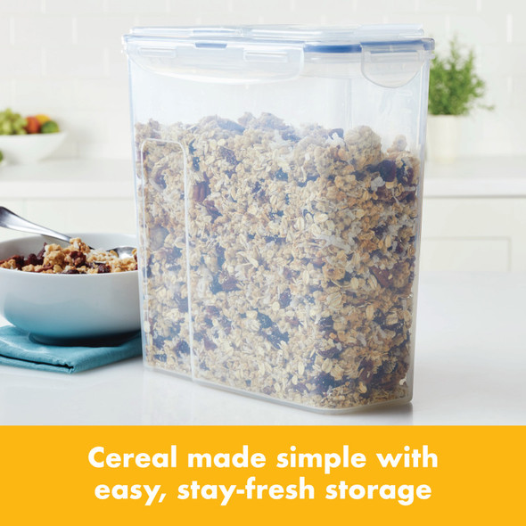 Lock & Lock Easy Essentials™ Pantry 16-Cup Cereal Storage Container