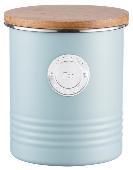 Typhoon® Living 33.8 Oz. Tea Canister in Blue