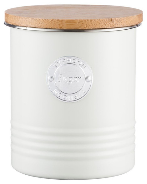 Typhoon® Living 33.8 Oz. Sugar Canister in Cream