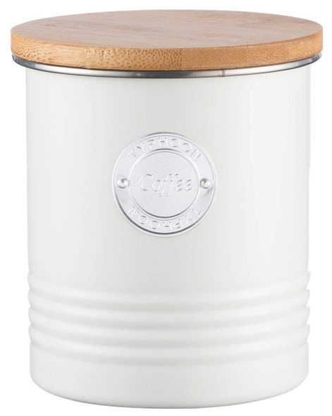 Typhoon® Living 33.8 Oz. Coffee Canister in Cream