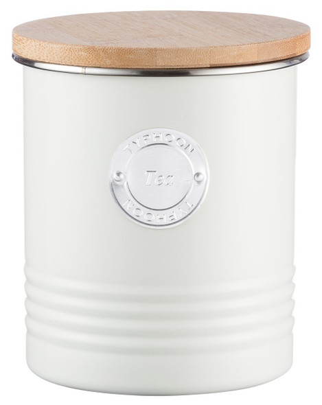 Typhoon® Living 33.8 Oz. Tea Canister in Cream