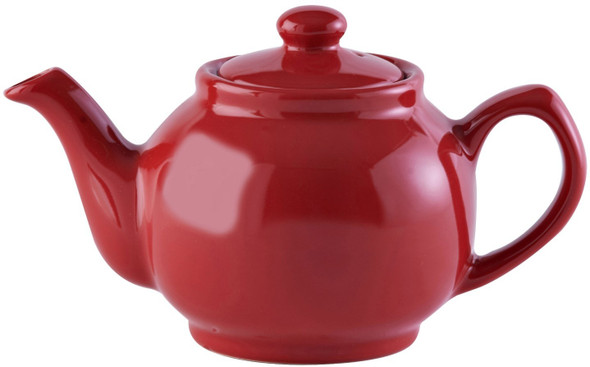 Price & Kensington® 2 Cup Stoneware Teapot in Red