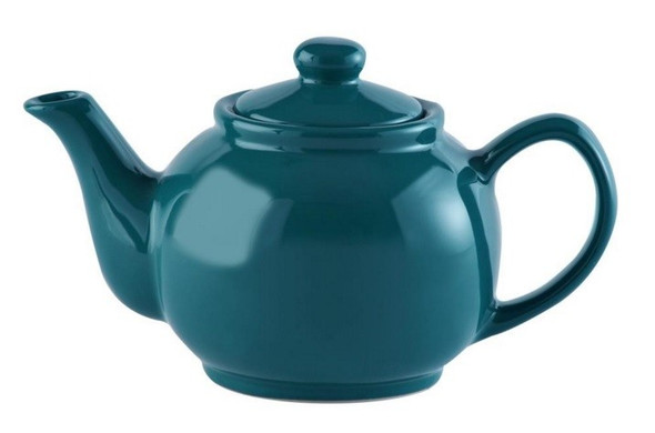 Price & Kensington® 2 Cup Stoneware Teapot in Teal Blue