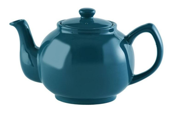 Price & Kensington® 6 Cup Stoneware Teapot in Teal Blue