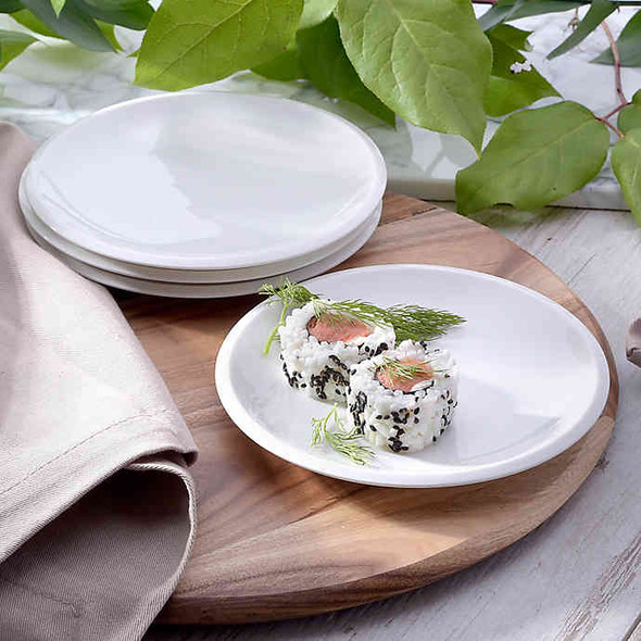 Craft Kitchen® Classic Appetizer Plates (Set of 4)