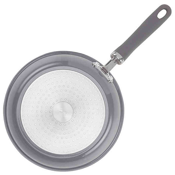 Rachael Ray™ Create Delicious Nonstick 9.5-Inch Aluminum Covered Deep Skillet in Grey