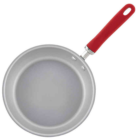 Rachael Ray™ Create Delicious Nonstick 9.5-Inch Aluminum Deep Skillet in Red